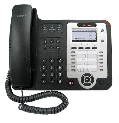 ES320-N IP Phone - Escene ES320-N Front view